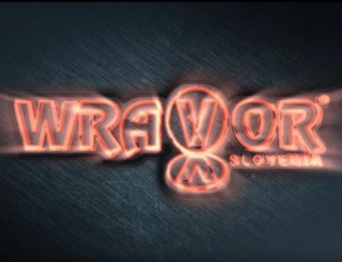 Wravor animacija logotipa